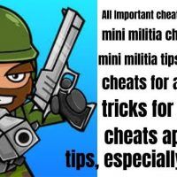 Some necessary Mini Militia Cheats, Good Trick Moreover cheats Tips For Andriod and ios To Do Some PRO Athletes