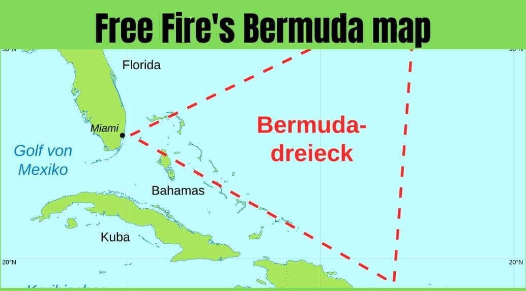 Free Fire's Bermuda map