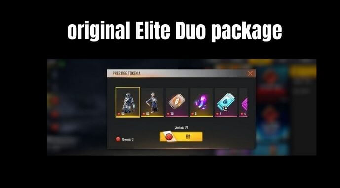 original Elite Duo package