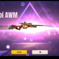 From Which Method we get the latest Lucky Koi AWM of Weapon Royale in Jugar free fire