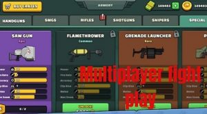 Multiplayer fight play
