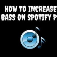 how to increase bass on spotify pc