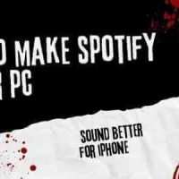 how to make spotify louder pc with sound better for iphone
