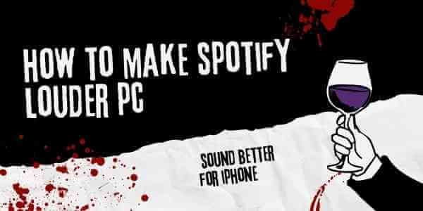 how to make spotify louder pc (1)
