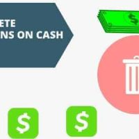 how to delete transactions on cash app account with complete history free